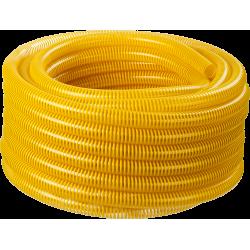 Шланг напорно-всасывающий со спиралью ПВХ, 10 атм, 19мм х 15м ЗУБР / 40327-19-15